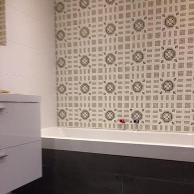 badkamer betegelen mozaiek
